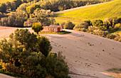 San Giusto village countryside, Macerata district, Marches, Italy