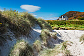 Lonely cottage on the North West Highlands of Scotland
