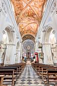 Lipari, Messina district, Sicily, Italy, Europe, The Saint Bartholomew Cathedral