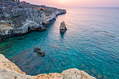 The rock of Capuchin friars Europe, Italy, Sicily region, Siracusa district