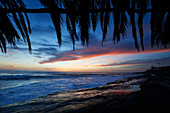 Tranquil scene of Windansea Beach in La Jolla, San Diego, California, USA