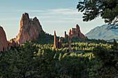 Garden of the Gods in Colorado Springs, Colorado is a National Natural Landmark.