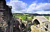 Melrose- Abbey, Süd-Schottland