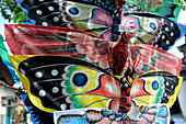 Indonesia, Bali, Kites. Butterflies