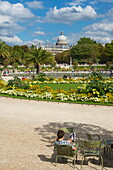 France, Paris, 6th arrondissement, Jardin du Luxembourg