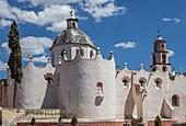 Mexico, State of Guanajuato, Facade, Sanctuary of Jesus Nazareno de Atotonilco, 18th century