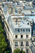 France. Paris 16th district. Place de l'Etoile. Building Lauriston street
