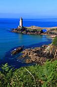 France, Brittany, Rade de Brest, Phare du Petit Minou.