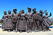 Portugal, Viano do Castelo district, Ponte do Lima. The oldest city of Portugal. Tribute to folkloric dance.