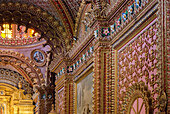 Mexico, Michoacan State, Morelia, Detail of the nave of the Sanctuary of Nuestra Senora de Guadalupe, 17th century, Unesco World Heritage