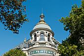 France. Paris 9th district. Boulevard Hausmann. Department store Au Printemps