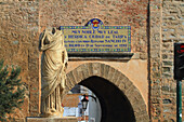 Spain, Andalusia, Tarifa, fortified town entrance