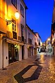 Europe, Portugal, Algarve, Lagos, night scene, old town