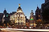 Edificio Metropolis, Architect Jules and Raymond Fevrier, Calle de Alcana, Madrid, Spain, Europe