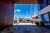 Luxury yachts at the port of Mallorca. Puerto de Palma, Port of Palma, Palma, Mallorca, Spain, Europ