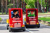 Oeland, Ladbilslandet, small cars for children, Schweden