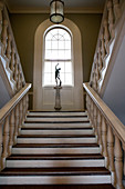 Moulton Union Staircase, Bowdoin College, Brunswick, Maine, USA