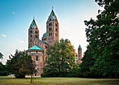 UNESCO World Heritage Speyer Cathedral, Speyer, Rhineland-Palatinate, Germany