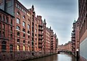 "UNESCO World Heritage ""Speicherstadt - warehouse dock"", Hamburg, Germany"