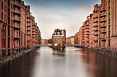 UNESCO World Heritage Speicherstadt - warehouse dock, castle, Hamburg, Germany