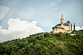 UNESCO World Heritage Upper Rhine Valley, Marksburg castle around Braubach, Rhineland-Palatinate, Germany