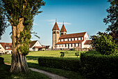 UNESCO World Heritage Reichenau Monastery Island, Church of St. Peter and Paul, Niederzell, Lake Constance, Baden-Wuerttemberg, Germany