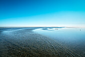 UNESCO World Heritage the Wadden Sea, Neuwerk Island, federal state Hamburg, Germany, North Sea