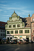 Historic centre of Weimar, Thuringia, Germany