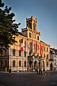 Town hall, Historic centre of Weimar, Thuringia, Germany