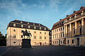 UNESCO World Heritage Classical Weimar, Duchess Anna Amalia library, Weimar, Thuringia, Germany