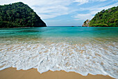 Deserted Beach on Macleod Island in the Margui Archipelago, Myanmar