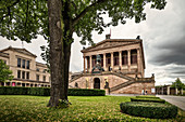UNESCO World Heritage Berlin Museum Island, Old National Gallery, Berlin, Germany