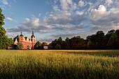 UNESCO World Heritage Muskau Gardens Prince Pueckler Park, New Castle, Lausitz, Saxony, Germany