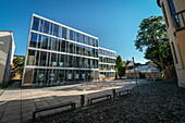 UNESCO World Heritage Bauhaus school, modern building of university, Weimar, Thuringia, Germany