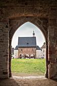 UNESCO World Heritage Lorsch Monastry, Carolingian Atrium, Benedictine Abbey, Hesse, Germany