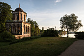 UNESCO World Heritage Castles and Gardens of Potsdam, Gothic Library, New Garden at Holy Lake, Brandenburg, Germany