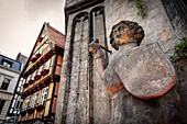 UNESCO World Heritage framework town Quedlinburg, historic town center, Saxony-Anhalt, Germany