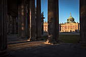UNESCO World Heritage Castles and Gardens of Potsdam, New Palace at Park Sansoucci, Brandenburg, Germany