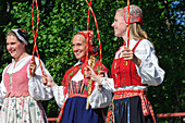Folklore in the open air museum Skansen, Stockholm, Sweden