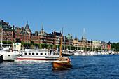 noble town houses on Strandvaegen, Stockholm, Sweden