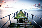 verrotteter Steg, Ostsee, Kiel, Kieler Förde, Schleswig Holstein, Deutschland