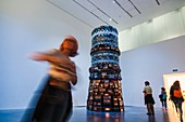 'England, London, Tate Modern, Artwork titled ''Babel'' by Cildo Meireles dated 2004'