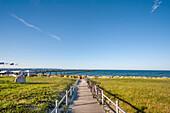 Binz, Ruegen Island, Mecklenburg-Western Pomerania, Germany