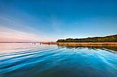 Grosser Jasmunder Bodden, Ralswiek, Ruegen Island, Mecklenburg-Western Pomerania, Germany