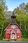 Swedish chapel, Ralswiek, Ruegen Island, Mecklenburg-Western Pomerania, Germany