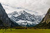 Valley Risstal, Karwendel region, Tirol, Austria