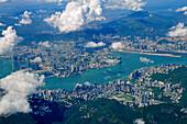 Hongkong Island and Kowloon, Hongkong, People's Republic of China