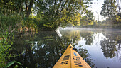 Spreewald Biosphere Reserve, Germany, Hiking, Kayaking, Recreation Area, Family Vacation, Family Outing, Paddling, Rowing, Wilderness, Excursion, Day Trip, River Landscape, Morning Mist, Water Reflection