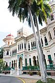 Palacio de Valle, palace, villa, peninsula La Punta, Cienfuegos, Cuba, Caribbean island