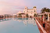 swimming pool at Club Cienfuegos, next to the Marina, Cienfuegos, Cuba, Caribbean island